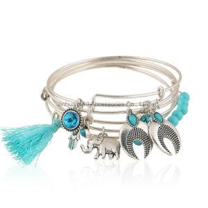 5PCS Set Bracelets Boho Turquoise Bracelet Set for Statement Women Jewelry Party Gift pictures & photos