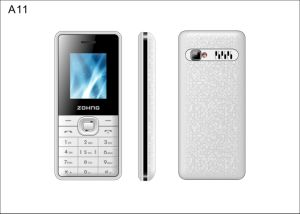 Factory Wholesale 1.8 Inch GSM Dual SIM Cheap Feature Mobile Phone A11 pictures & photos