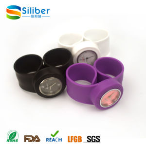 High Quality Cheap Waterproof Silicone Clap Watch pictures & photos