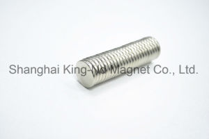 NdFeB Disc D14*2mm Neodymium Magnet (N35) pictures & photos