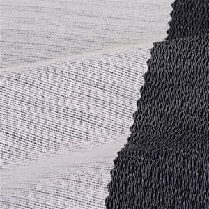 50% Polyester+50% Viscose Brushed Woven Interlining Fusbile pictures & photos