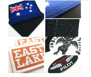 Specialized Embroidery Iron-on Clothes Soccer Patches Badge Logo Cool Patch Logos Embroidery Insignia pictures & photos