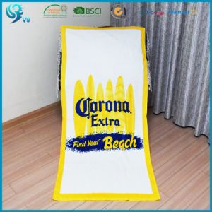 100% Cotton Velour Reactive Printed Factroy Sale Sport Towel pictures & photos