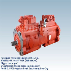 Hydraulic Kawasaki Mani Pump for Doosan 258 Excavator (K3V112) pictures & photos