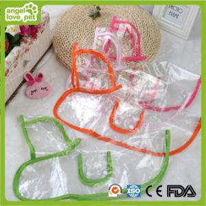 Transparent Pet Raincoat Pet Clothes pictures & photos