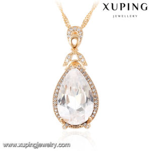 32749 Latest Charm Eye Tear Design Synthetic CZ Fashion Necklace Pendant for Party pictures & photos