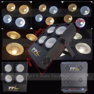 4PCS * 100W Warm White + Cold White 2in1 COB LED Audience Blinder Light pictures & photos