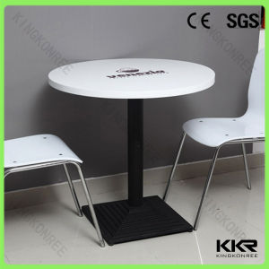 Modern Stype Coffee Shop Furniture Round Coffee Table pictures & photos