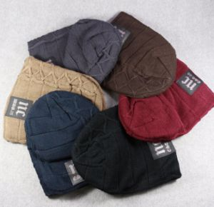 High Quality Warm Acrylic Knitted Hats pictures & photos