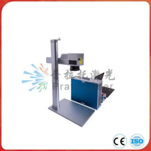 Hot Sale Metal Parts Fiber Laser Marking Machine pictures & photos