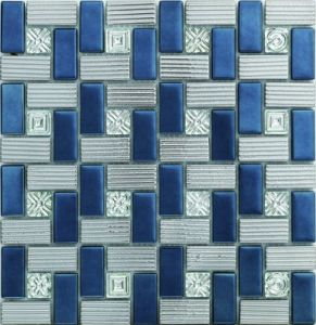 Nobel Design Stained Glass Mosaic with Cheap Price (AJ2A1607) pictures & photos