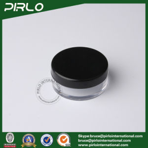 10ml 10g Transparent Plastic Cosmetic Powder Jar with Lid pictures & photos