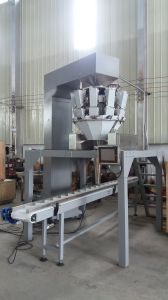 Automatic Bottle/Cans/Carton/Box Filler with Multihead Weigher for Solid Products pictures & photos