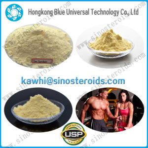 High Purity Yellow Crystalline Raw Trenbolone Enanthate for Bodybuilding pictures & photos