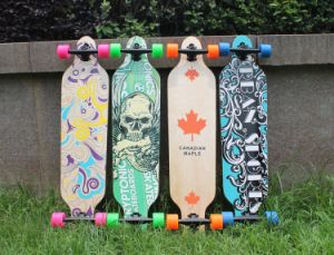 High Quality Complete Skate Board Canada Maple Skateboard pictures & photos