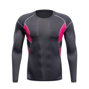 Customized Logo Pattern Man′s Outdoor Gym Quick Drying Sportswear pictures & photos