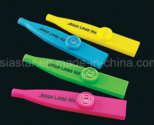 Jesus Bless You Printed Plastic Kazoo pictures & photos