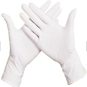 Hospital Examination Disposable Nitrial Gloves pictures & photos