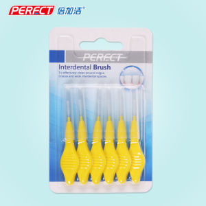 Perfect 6in1 OEM Inter Dental Brush/Toothbrush pictures & photos
