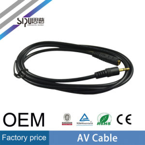 Sipu Low Price 3.5mm AV Cable RCA Audio Video Cables pictures & photos