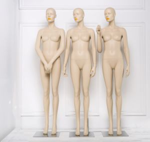 Fiberglass Mannequin Female with Make up pictures & photos