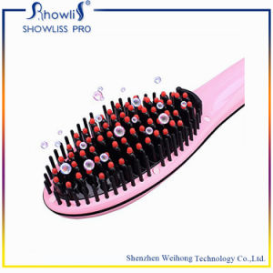 2016 Electric Automatic Brush Hair Straightener