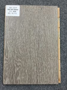 Brushed Surface 3-Layer Osk Wood Lamina Flooring Tile pictures & photos