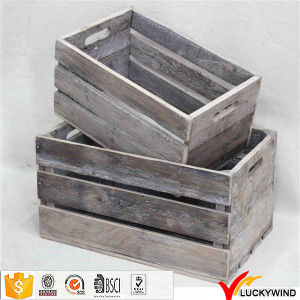 Wholesale Shabby Chic Antique Vintage Recycled Wood Fruit Crates pictures & photos