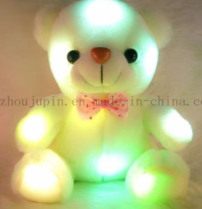 Customized Kids Plush Stuffed LED Teddy Bear Toy for Promotion pictures & photos
