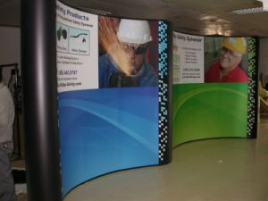 Aluminum Portable Adevertising Pop up Stand Display (PU-08) pictures & photos