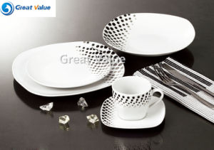 Best Quality Ceramic Restaurant Dinner Plate pictures & photos