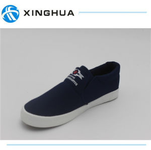 2017 Rubber Shoes Canvas Cheap Casual Footwear pictures & photos