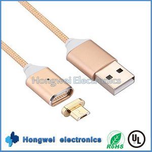 Micro Magnetic Charging USB Cable Adapter Charger Cable for Android Phone pictures & photos