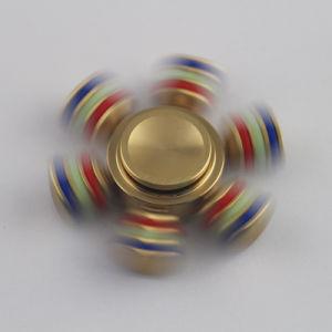 2017 Fidget Spinner Removable Gyroscope Fingertips Spiral 6 Horn Metal Hand Spinner pictures & photos