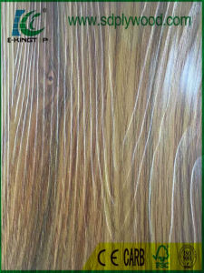 MDF 18mm Laminated Textured Melamine Paper for Furniture, Cabinets pictures & photos