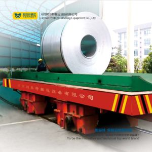 Low Voltage Rail Operated Electric Coil Transfer Cart pictures & photos