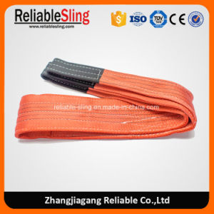 Double Ply Flat Polyester Webbing Sling with Lifting Eyes pictures & photos