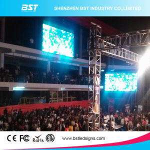 Indoor Large Full Color P6 Indoor Rental LED Display, LED Video Wall Rental Wide Viewing Angle pictures & photos