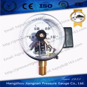 Magnetic Electric Contact Vacuum Pressure Gauge pictures & photos