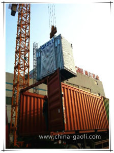Gaoli Sc Series Rack and Pinion Construction Hoist pictures & photos
