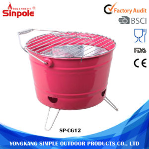 Unique Design Portable Bucket BBQ Charcoal Grill Tool pictures & photos