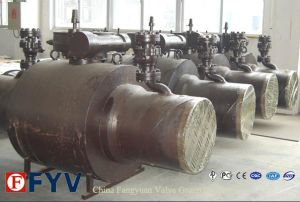Long Stem Forged Steel Fully Welded Ball Valve pictures & photos