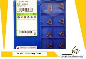 Kyocera Tcmt110204-Hq Tn60  Turning Insert for Turning Tool Carbide Insert pictures & photos
