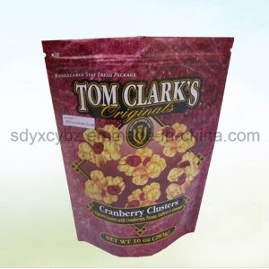Snack Use and Accept Custom Orderstand up Plastic Packaging Pouch/Bag pictures & photos