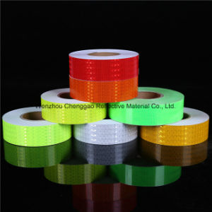 PVC Reflective Sheet with Crystal Lattice Film pictures & photos