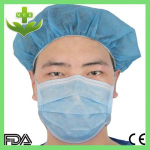 3-Ply Surgical Disposable Face Mask Earloop Headloop Tie-on pictures & photos