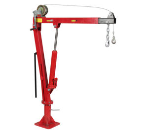 1000lb Hydraulic Pick up Truck Crane with Hand Winch pictures & photos