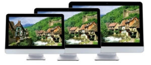 All in One PC Inte I5 with 23.6 Inch Touch Monitor pictures & photos