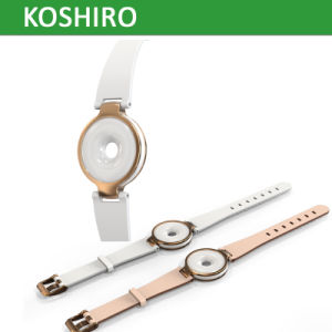 2017 Fashion Ladies Smart Bracelet with Ceramics Leather Material pictures & photos