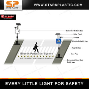 Pedestrian Traffic Sign with Solar Power pictures & photos
